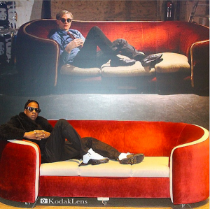 Jay Z at the Warhol Museum in Pittsburgh via Art Info