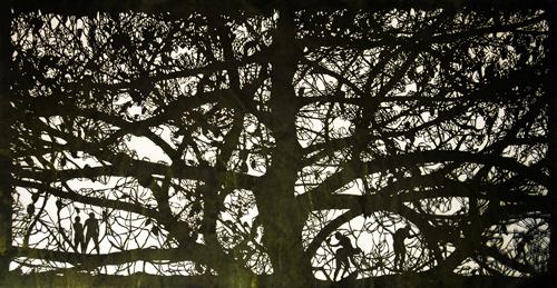 Giant Pine via via Ed Pien