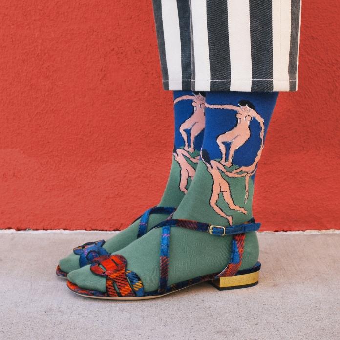 Henri Matisse's Dance (I) in Dries Van Noten Styled by Kate Brien Photographer: David Kitz