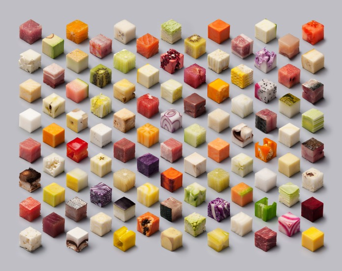 LS-Fruit cubes