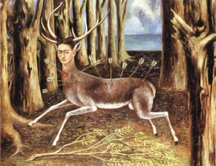 """The Wounded Deer"" by Frida Kahlo"